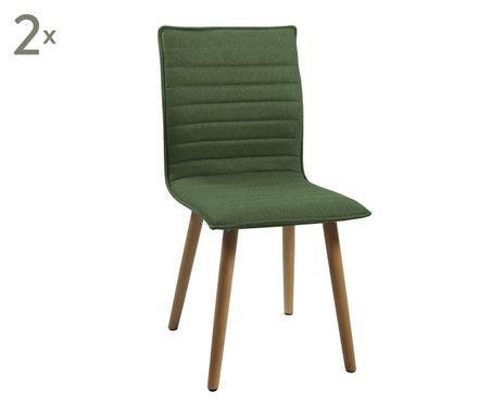 Schön ... Esszimmerstühle Karlie, 2 Stück, Grün, B 44 Cm Verfügbarkeit Prüfen ...