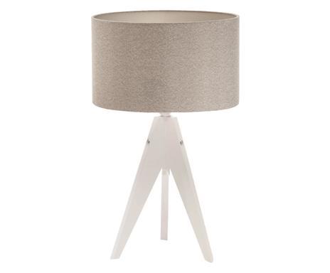 ... Tischleuchte Artist, Braun Grau/weiß, H 33 Cm Verfügbarkeit Prüfen ...