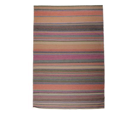 Teppich bunt gestreift  Bunt gestreifte Teppiche Die fünfte Wand wird farbenfroh ...