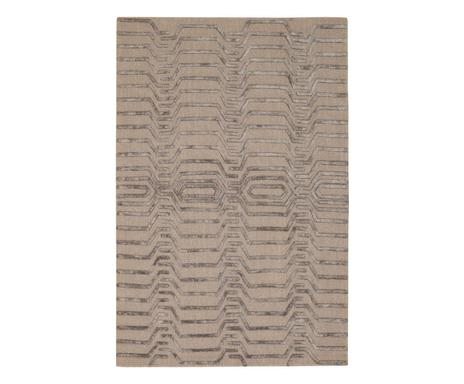 ... Handgetufteter Wollteppich Kendra, Braungrau, 122 X 183 Cm  Verfügbarkeit Prüfen ...