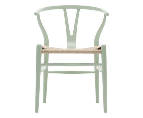 ... Stuhl Wishbone Chair, Massive Buche, Mintgrün Lackiert, B 55 Cm  Verfügbarkeit Prüfen ...