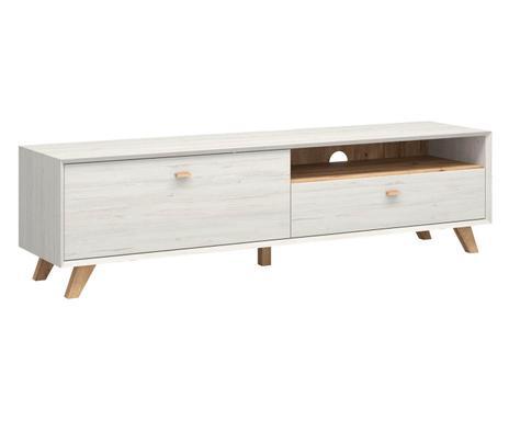 ... TV Lowboard Calvi, Pinien Weiß, B 187 Cm Verfügbarkeit Prüfen ...
