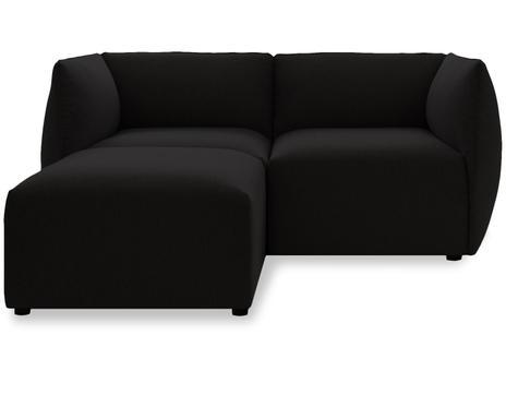 2 Sitzer Sofa Carmen Mit Ottomane Links Dunkelbraun B 150 Cm Verfügbarkeit Prüfen