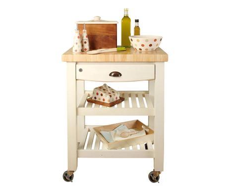 Küchenwagen Landhausstil t g woodware charmante küchen accessoires westwing