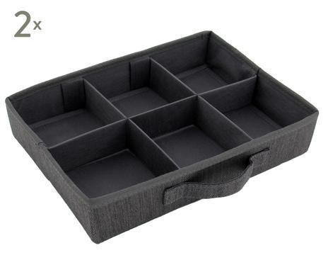... Aufbewahrungsboxen Jill, 2 Stück, Braungrau, B 33 Cm Verfügbarkeit  Prüfen Aufbewahrungsboxen ...