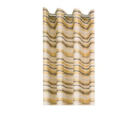 ... Vorhang TIMOTHE, Gelb/braun/grau 140 X 260 Cm Verfügbarkeit Prüfen ...