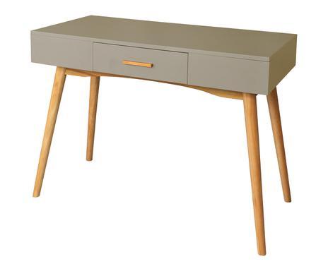 ... Schreibtisch Sixties, Beige, B 100 Cm Verfügbarkeit Prüfen ...