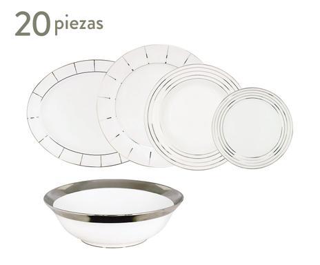 Vajillas porcel porcelana portuguesa westwing - Vajillas portuguesas ...