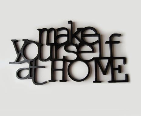 palabras decorativas make yourself at home u grande consultar