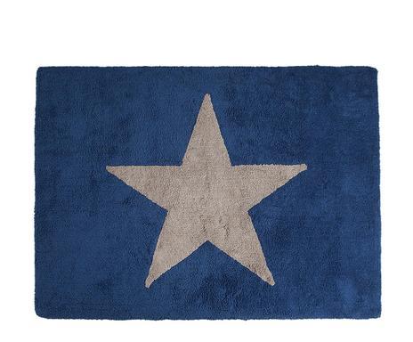 good tapis star coton bleu fonc et gris vrifier la with tapis nuage bleu. Black Bedroom Furniture Sets. Home Design Ideas