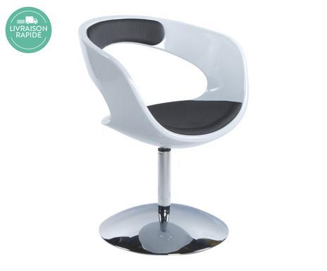latest chaise boule chrome blanc l vrifier la with chaise boule. Black Bedroom Furniture Sets. Home Design Ideas