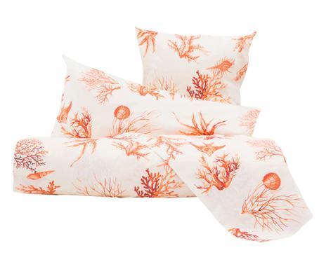 blanc cassé linge de lit Linge de lit et de bain Imprimé corail, coquillage | Westwing blanc cassé linge de lit