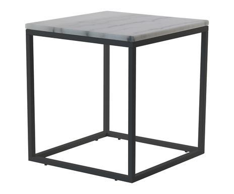 mobilier su dois rge tables en marbre dessertes cuivr es. Black Bedroom Furniture Sets. Home Design Ideas