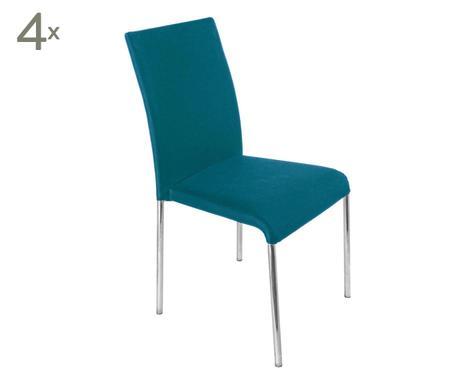 Sedie Blu Petrolio : Sedie a ° sedute di design westwing