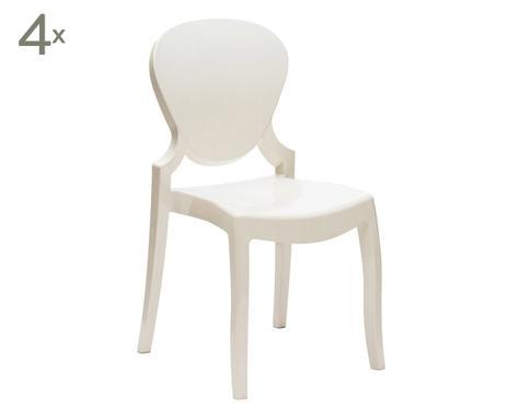 Seduta con stile sedie co westwing for Sedie policarbonato nere