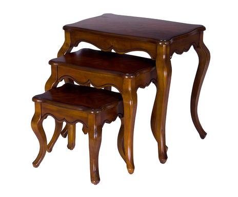 I colori del nord mobiletti arredi e deco westwing - Tris di tavolini ...