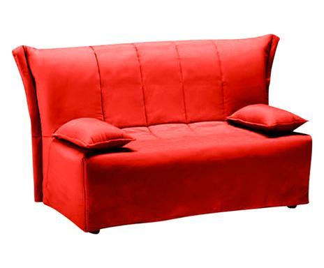 Living pastello divani e pouf colorati westwing - Divano letto rosso ...