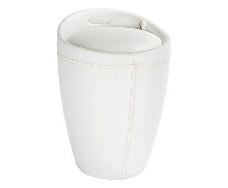 Wenko sgabello porta biancheria con sacco cm bianco