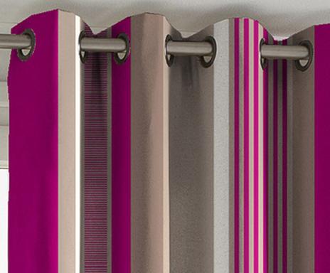 gordijn othello fuchsia 135 x 270 cm check beschikbaarheid