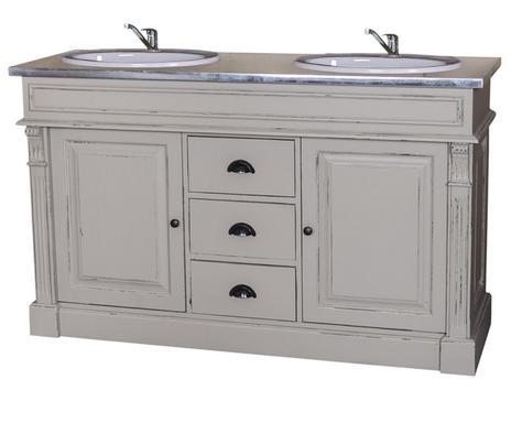 Badkamerkast Zwart Wit : Een klassiek badhuis badkamerkasten mét wasbak westwing