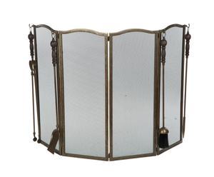Экран для защиты от искр - латунь - 95х65