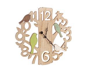 Настенные часы Bird - МДФ, Ø40 см