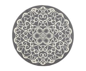 Tappeto Mandala grigio, D 140 cm
