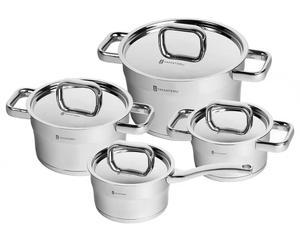 Набор посуды - нержавеющая сталь