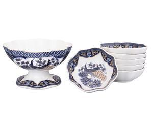 Набор для варенья из 7 предметов - керамика