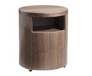 Mesilla de noche en madera de nogal Oskin - natural