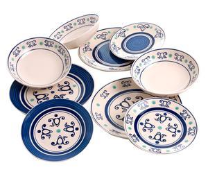 Набор из 18 блюд Panarea - керамика