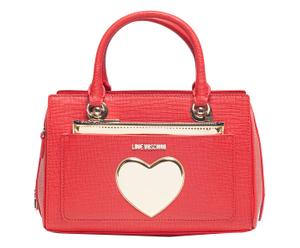 Bolso Gold Heart - rojo