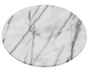 Вращающаяся подставка для блюда - мрамор, Ø30 см