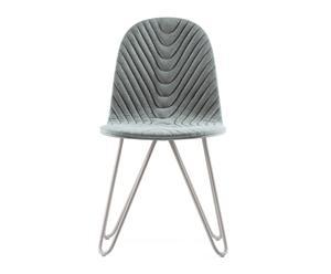 """Krzesło """"Mannequin 03 7037 Szary Gray III"""", 40 x 43 x 81 cm"""