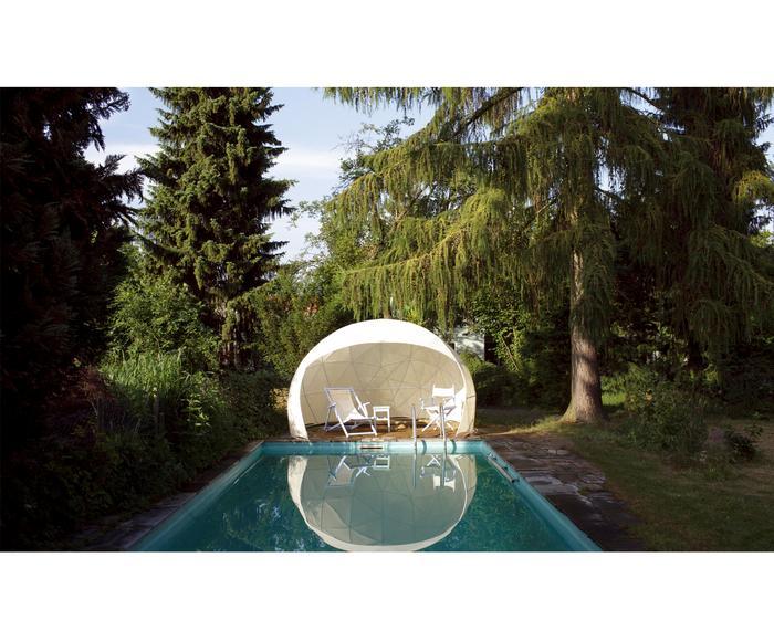 Couverture d'été pour garden IGLOO, crème - Ø360