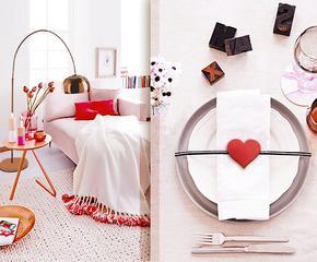 Idee romantiche per tutta la casa
