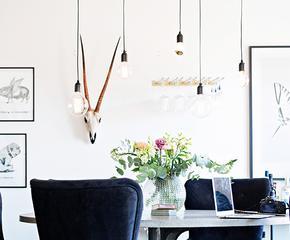 Lámparas minimalistas