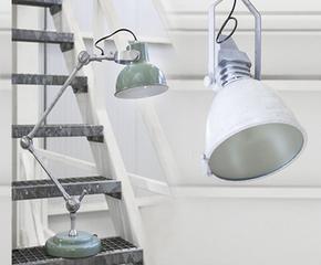 Stoere lampen met een softe touch