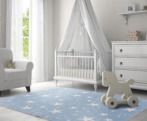 Dziecięce dywany, lampy, kocyki