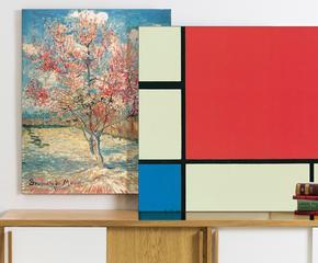 Mondrian, Van Gogh, Kandinsky...