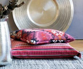 kissen poufs im boho style. Black Bedroom Furniture Sets. Home Design Ideas