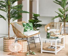 Exotic Chic für Möbel & Accessoires