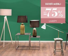 Lampy wiszące, podłogowe, stołowe