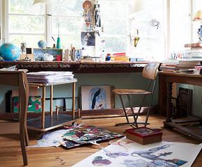 Creëer een creatieve studio