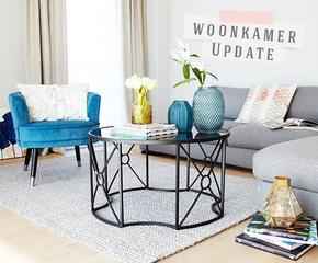 Geef je woonkamer een lente-retouch