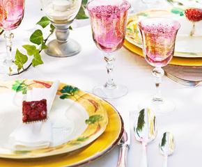 Итальянская посуда в стиле кантри