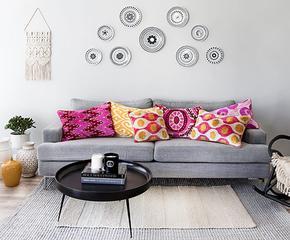 Boho-Chic für Sofas & Sessel