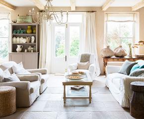 Interior-Eleganz in leisen Tönen