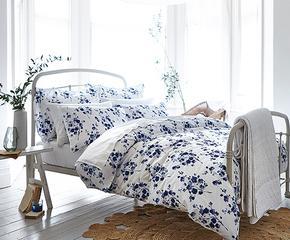 Algodón inglés en la cama
