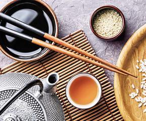 Посуда в азиатском стиле